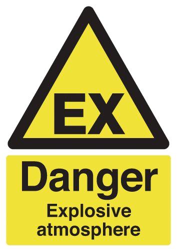Sinalização Zona ATEX